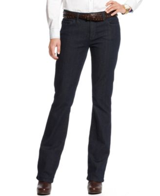 Tommy Hilfiger Classic Bootcut Jeans, Ocean Wash - Jeans - Women ...