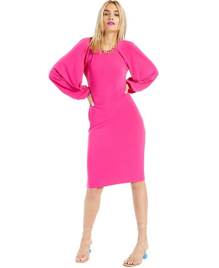 INC International Concepts - Raglan-Sleeve Knit Dress