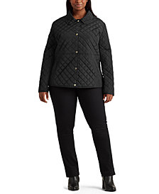 Lauren Ralph Lauren Plus Size Quilted Jacket