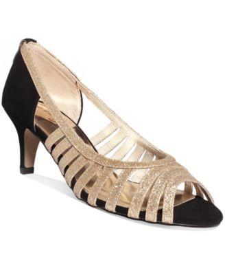 Easy Street Sparkle Evening Sandals