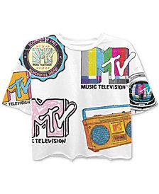 Freeze 24-7 Juniors' MTV-Print T-Shirt