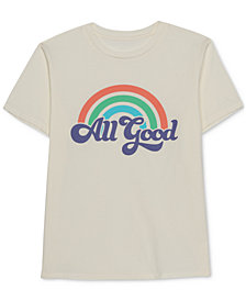 Love Tribe Juniors' All Good Graphic-Print T-Shirt