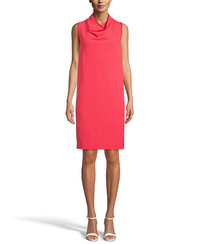 Anne Klein - Cowl-Neck Dress