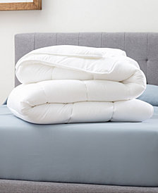 Dream Collection by Lucid Medium Warmth Down Alternative Comforter, Oversized Queen