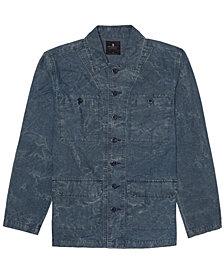 Junk Food Men's Albert Tie Dye Military Jacket