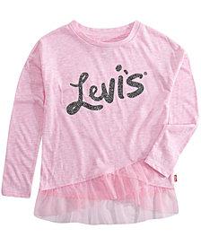 Levi's Big Girls Ruffled Tunic T-shirt