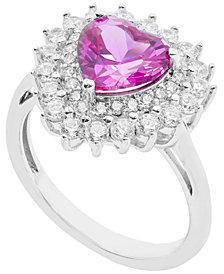 Women's Heart Ring in Sterling Silver