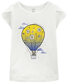Carter's Big Girls Hot Air Balloon Jersey Tee