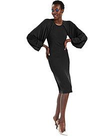 INC Raglan-Sleeve Knit Dress, Created for Macy's