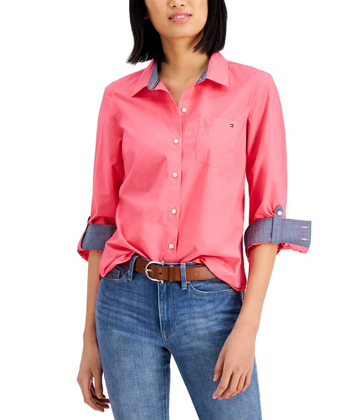 Tommy Hilfiger - Roll-Tab Button-Up Shirt