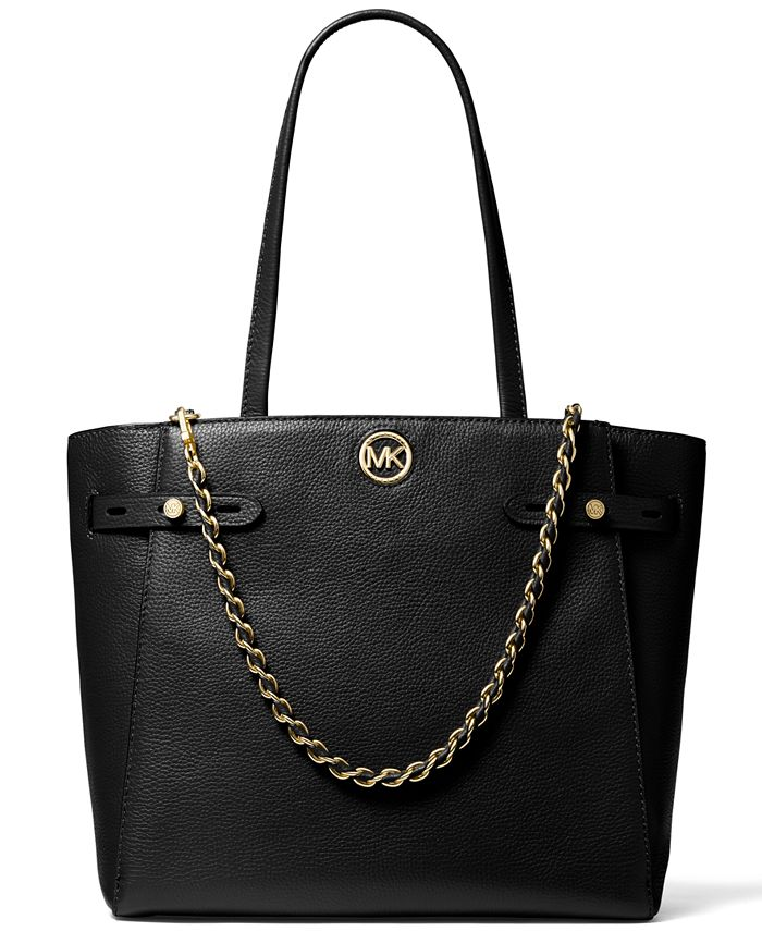 Michael Kors - Carmen Large Leather Belted Tote