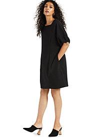 Alfani Cinch-Sleeve Dress, Created for Macy's