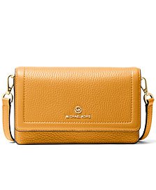 Michael Michael Kors Jet Set Charm Leather Phone Crossbody