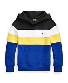 Polo Ralph Lauren Big Boys Color Blocked Double Knit Hoodie