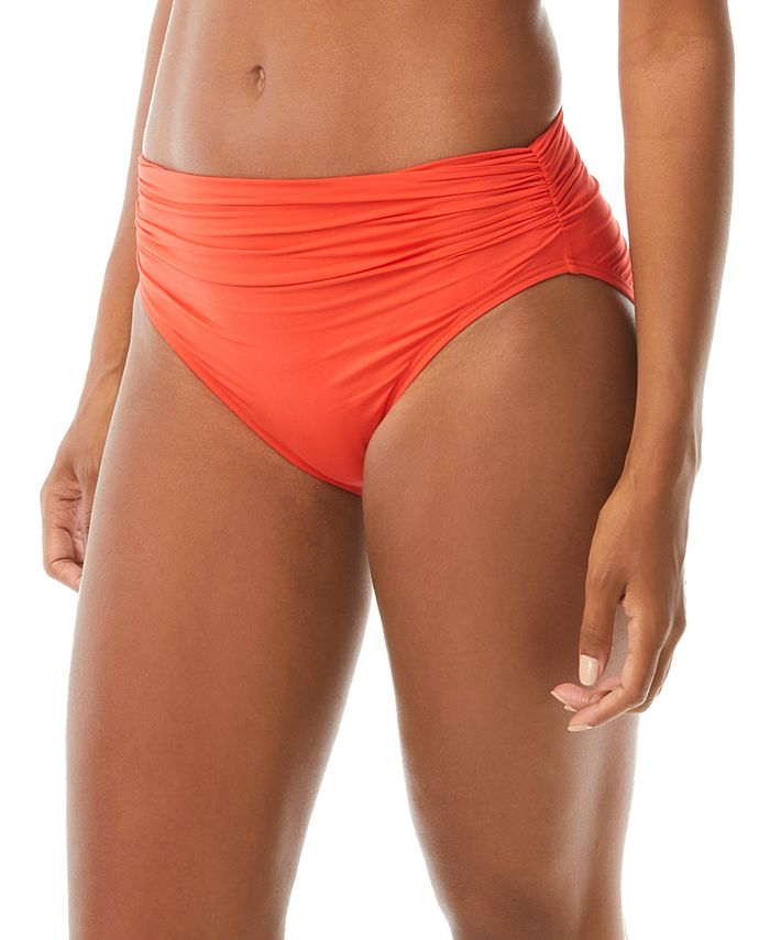 Carmen Marc Valvo - Classic Shirred Bikini Briefs