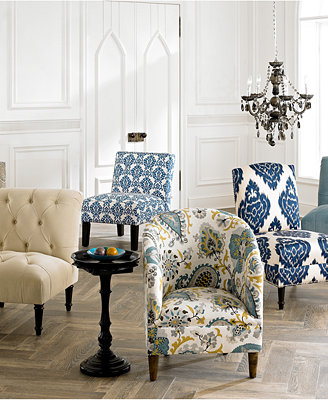 Direct Ship Accent Chairs & Ottomans - Furniture - Macy's
