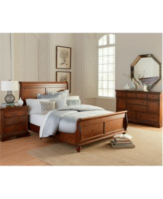 Gramercy Bedroom Furniture Queen 3 Piece Set Bed Dresser And Nightstand
