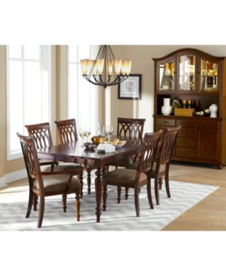 Crestwood 7-Piece Dining Room Furniture Set - Furniture - Macy\'s