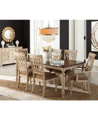 Dovewood Dining Room Furniture Collection Furniture Macys - Macys dining room sets