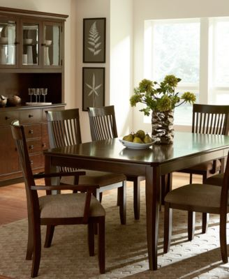 Augusta Dining Table Furniture Macys - Macys dining room sets