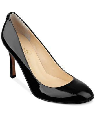 Ivanka Trump Janie Wide Width Mid Heel Pumps