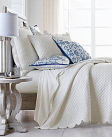 Hotel Collection Palmette King Coverlet, Created for Macy's