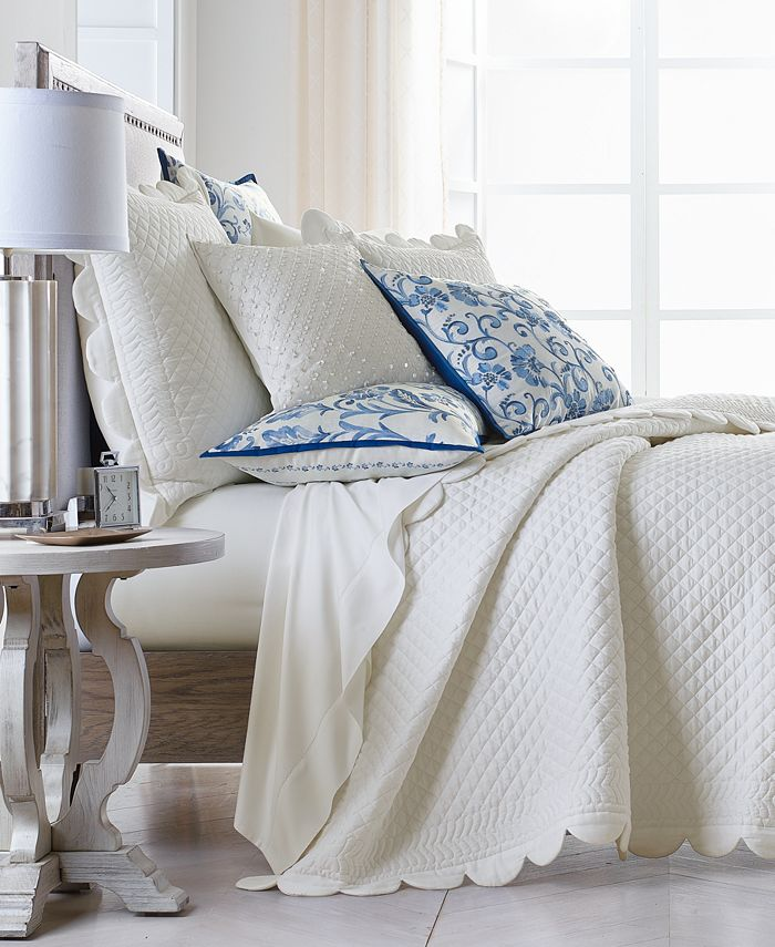 Hotel Collection - Palmette King Coverlet, Created for Macy's