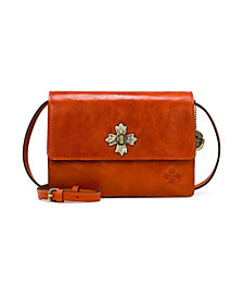 Patricia Nash Consilina Leather Crossbody