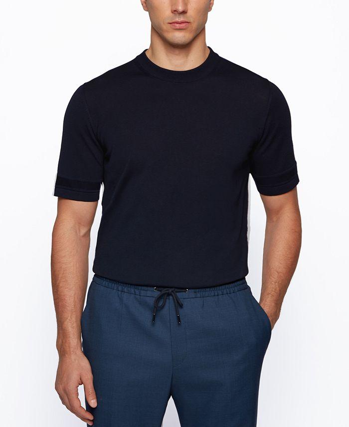 Hugo Boss - Men's Mercerized Regular-Fit Sweater