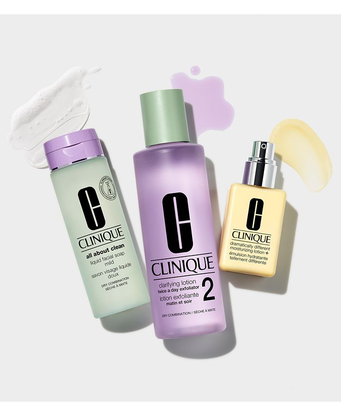 Clinique - 3-Step Skin Care System for All Skin Types