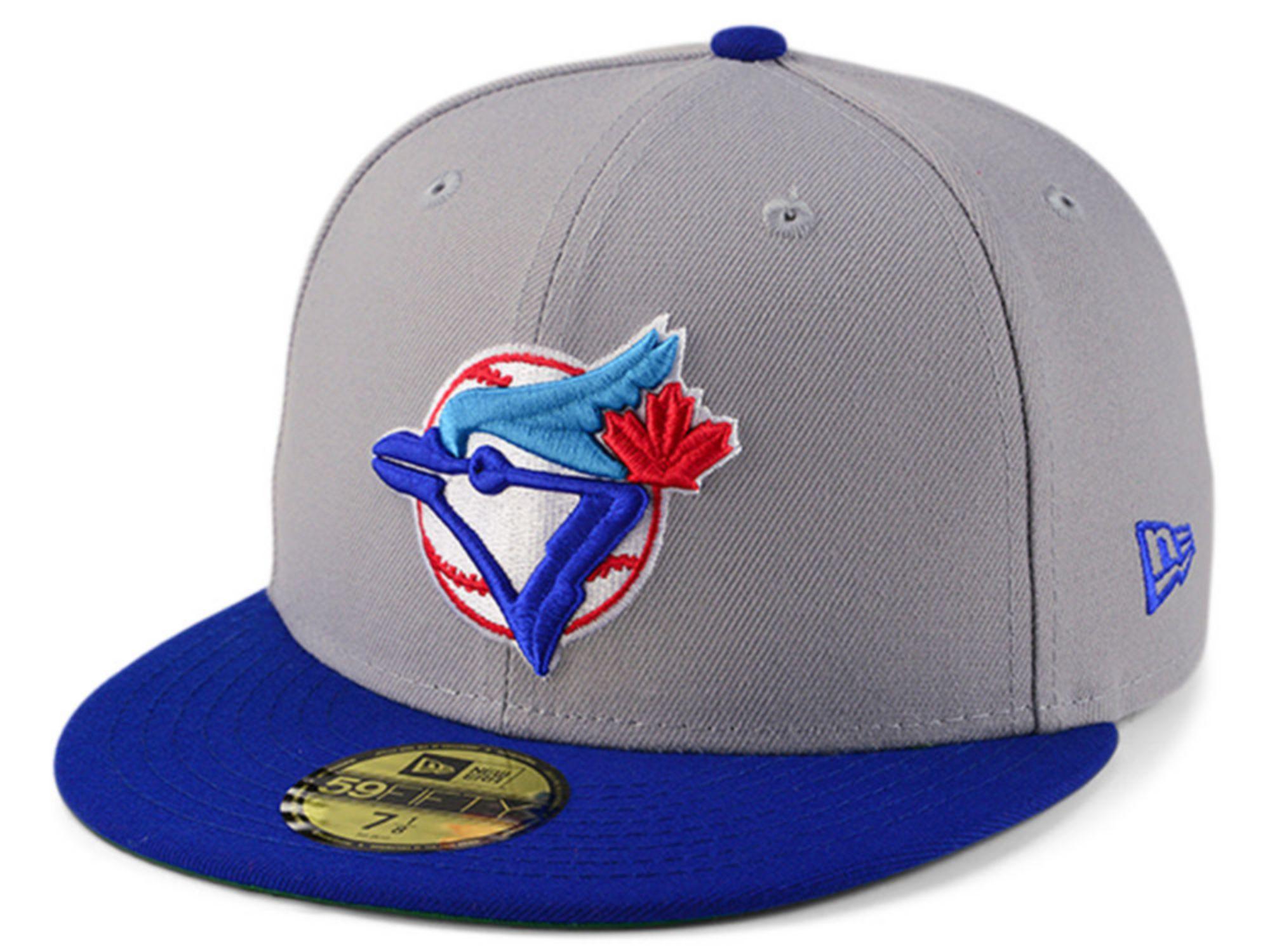 New Era Toronto Blue Jays Gray Anniversary 59FIFTY Cap & Reviews - MLB - Sports Fan Shop - Macy's