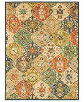Shaw Living Neo Abstracts 08440 Alta Vista Multi Area Rug 18 x 2