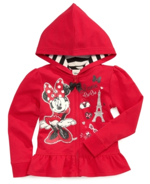 Disney Little Girls' Minnie Mouse Hoodie