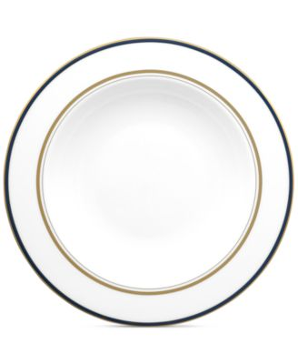 kate spade new york Library Lane Navy Pasta Bowl/Rim Soup