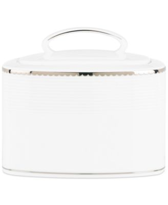 kate spade new york, Sugar Pointe Sugar Bowl with Lid