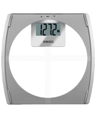 Homedics Clear Glass Composition Health Station® SC-532 Scale