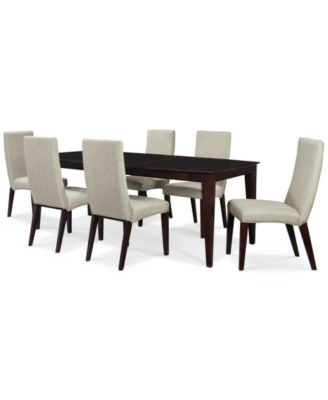 Lincoln Square 7 Piece Dining Room Furniture Set