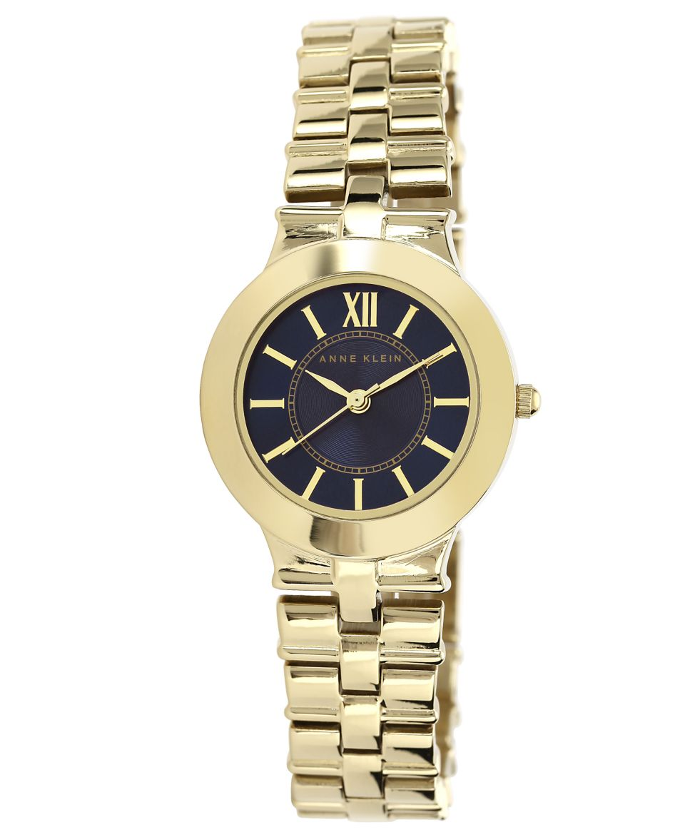 Anne Klein Womens Gold Tone Adjustable Bracelet Watch 28mm AK 1494PRGB   Watches   Jewelry & Watches