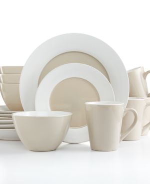Pfaltzgraff Everyday Dinnerware, Hunter Taupe 16-Piece Set