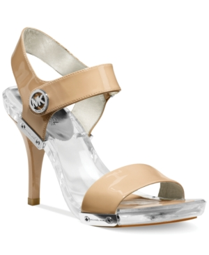 Michael Michael Kors Lani Platform Sandals Womens Shoes