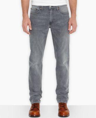 Levi's 511 Slim Fit Express Open Grey Jeans - Jeans - Men - Macy's