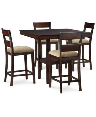 branton 5pc set 4 chairs u0026 table