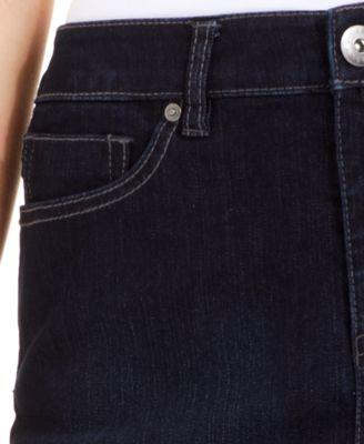 Style & Co. Petite Denim Skirt, Rinse Wash - Skirts - Women - Macy's