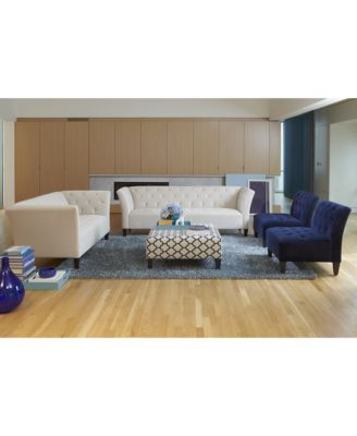 Lizbeth Fabric Sofa Living Room Furniture Collection Macys