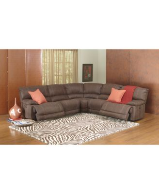 Jedd Fabric Sectional Living Room Furniture Collection Power  sc 1 st  Best Livingroom 2017 : jedd sectional - Sectionals, Sofas & Couches