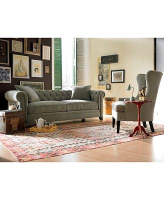 Martha Stewart Saybridge Living Room Furniture - Furniture - Macy'S