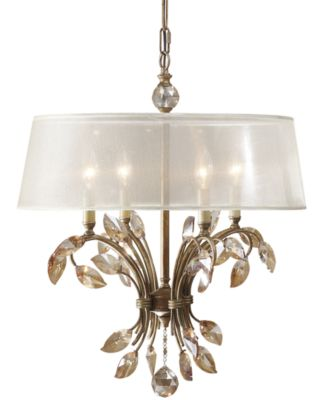 Uttermost Alenya 4 Light Chandelier