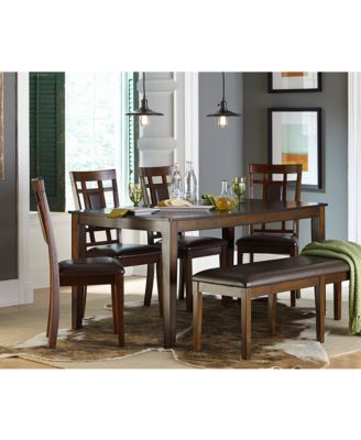 Delran 6-Piece Dining Room Furniture Set - Furniture - Macy\'s