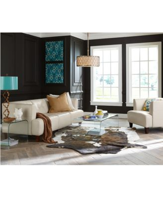 Alessia Leather Living Room Chair