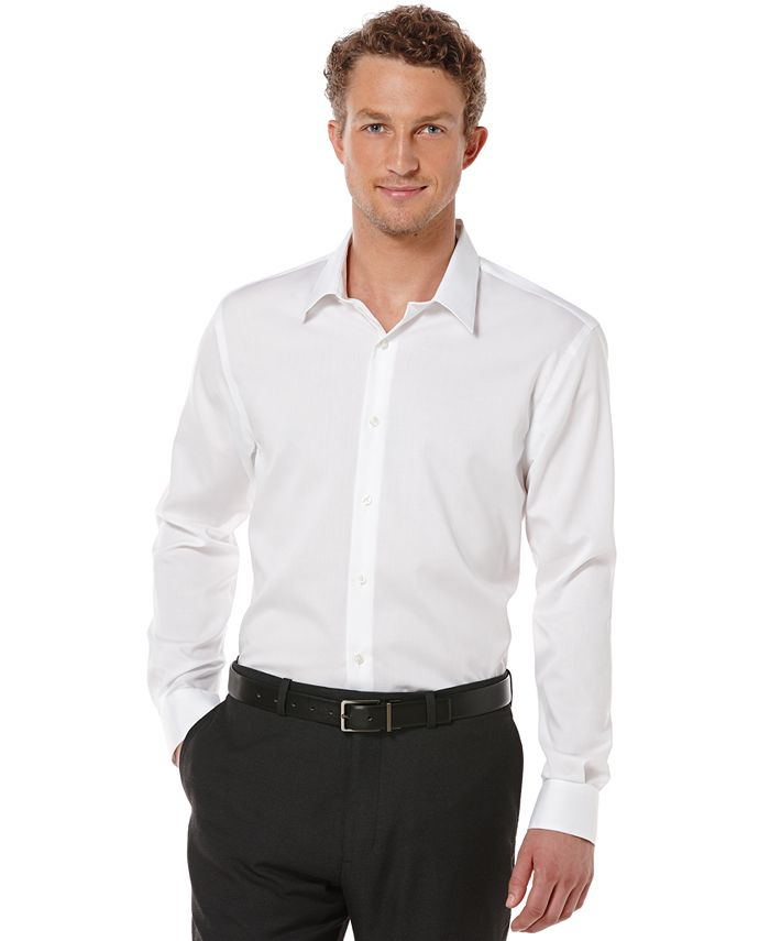 Perry Ellis - Big and Tall Long Sleeve Non-Iron Shirt